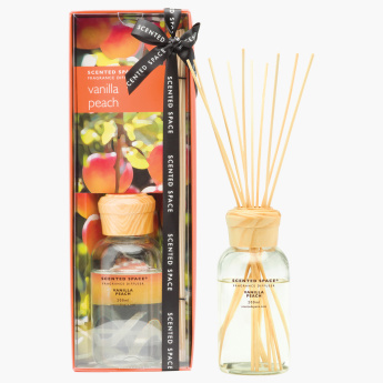 Scented Space Vanilla Peach Reed Diffuser - 200 ml