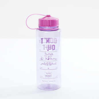 icon Printed Water Bottle - 950 ml