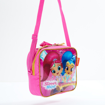 Shimmer and Shine Printed 5-Piece Trolley Backpack Set