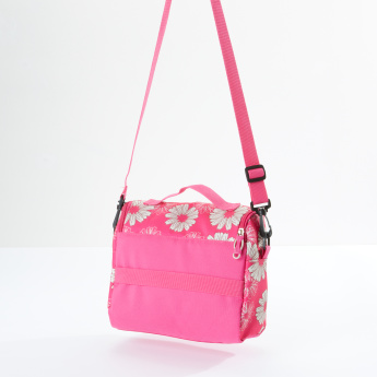Sensazioni Printed Lunch Bag with Zip Closure and Handle