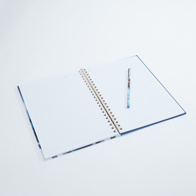 Bomi Printed Spiral Bound Notebook - A4