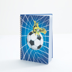 Bomi Printed Spiral A4 Bound Notebook