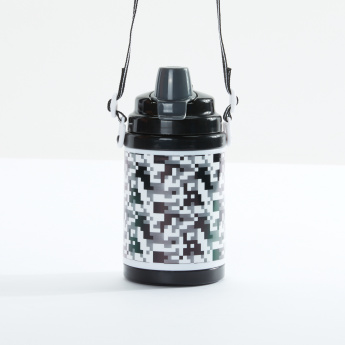 J World Camouflage Printed Water Bottle