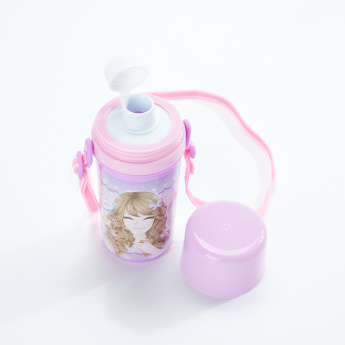Minmie Printed Water Bottle with Strap