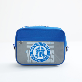 New York Yankees Printed Lunch Bag with Zip Closure