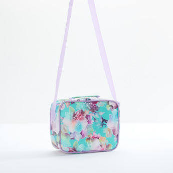 Kimmi Doll Printed Lunch Bag with Zip Closure and Adjustable Strap