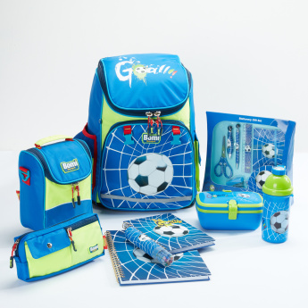 Bomi Football Printed 7-Piece Stationery Set