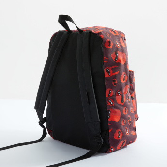 Jansport Incredibles Printed Backpack with Zip Closure