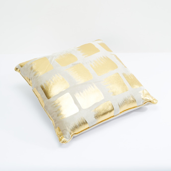 Printed Filled Cushion - 45x45 cms