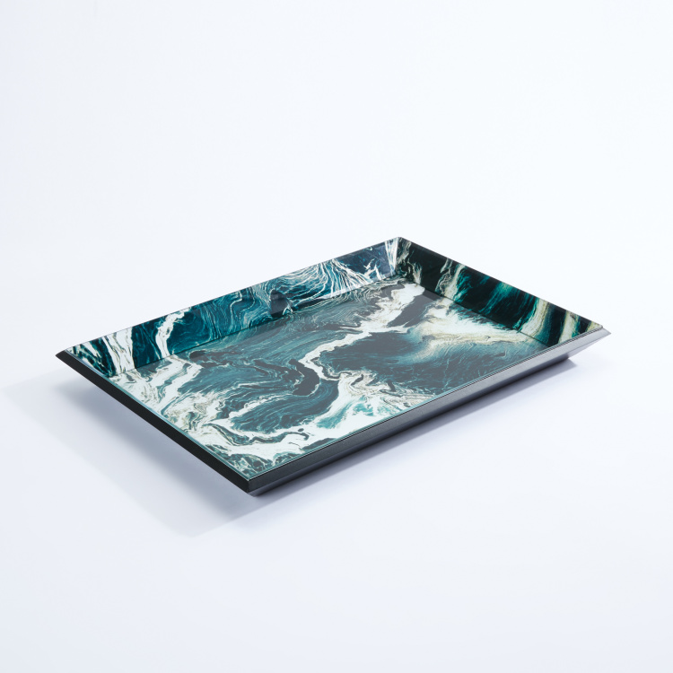 Printed Rectangular Serving Tray