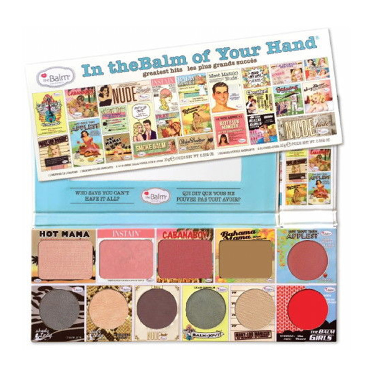 theBalm In the Balm of Your Hand Eyeshadow Palette