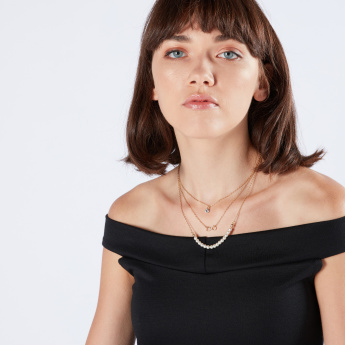Sasha Multilayer Necklace with Lobster Clasp