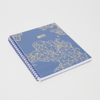 Syloon Printed A5 Spiral Notebook