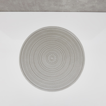 Costa Textured Circular Placemat - 38 cms