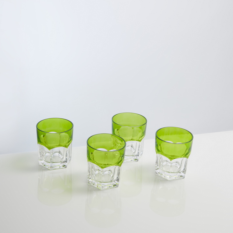 Godinger Textured Glass - Set of 4