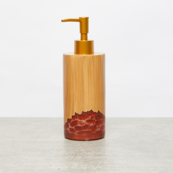 Bamboo Rock Printed Lotion Dispenser