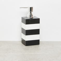 Judgment Striped Lotion Dispenser