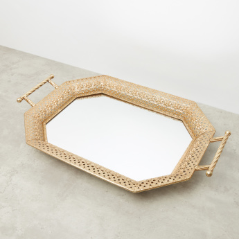 Decorative Tray with Handles