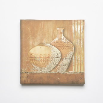 Pots from the East Canvas Wall Art