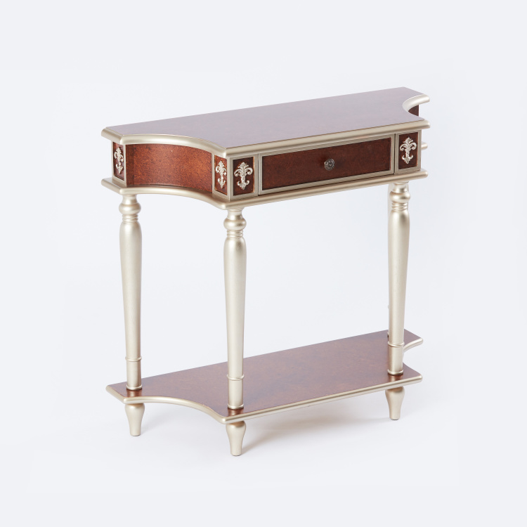2-Tier Console Table - 92x35.5x82.5 cms
