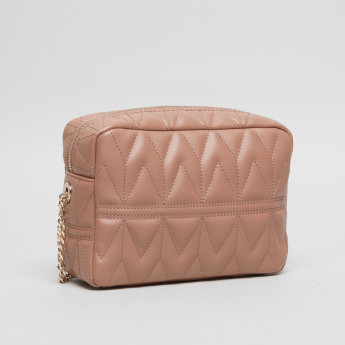 Fiorelli Lola Quilted Crossbody Bag with Zip Closure