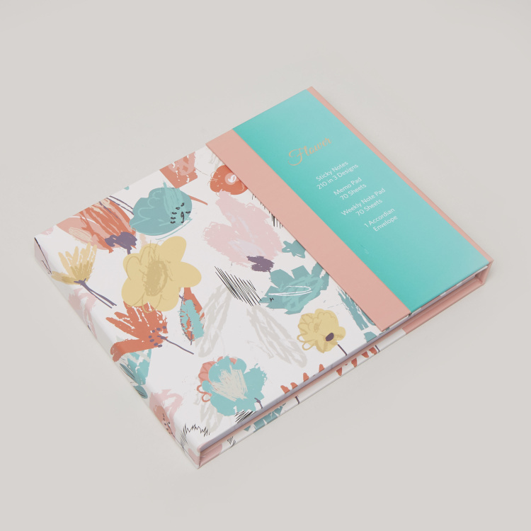 Syloon Printed Stationery Set