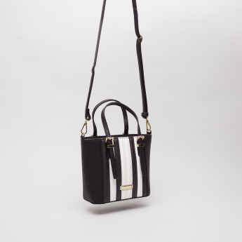 Charlotte Reid Satchel Crossbody Bag with Zip Closure