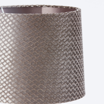 Cylindrical Moulded Table Lamp - 30x30x64 cms