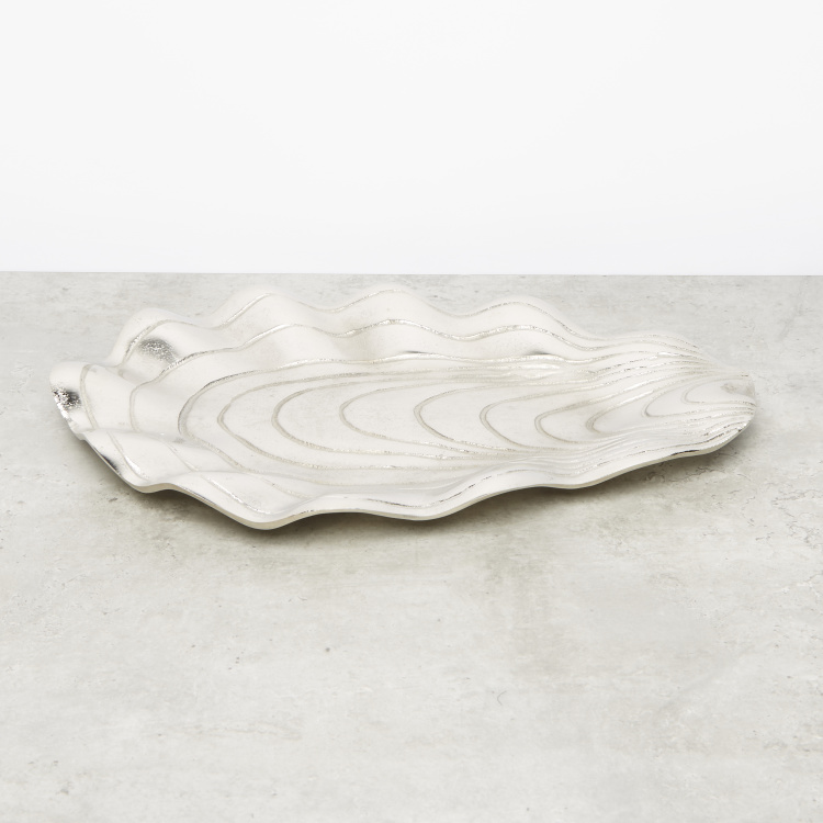 Shell Decorative Platter - 36x24 cms