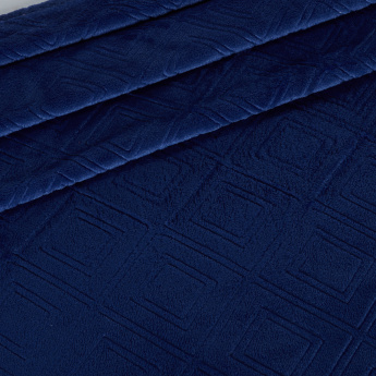 Embossed Velvet Plush Throw - 150x180 cms