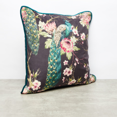 Floral Printed Filled Cushion - 45x45 cms