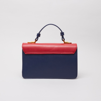 Charlotte Reid Mei Sing Colourblock Satchel Bag