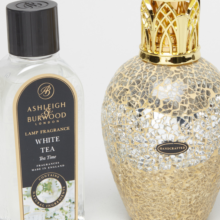 Ashleigh & Burwood Winter Palace Lamp and White Tea Lamp Fragrance