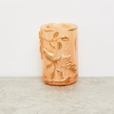 Embossed Tumbler with Glossy Finish
