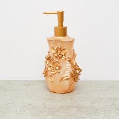 Embossed Lotion Dispenser with Matte Finish