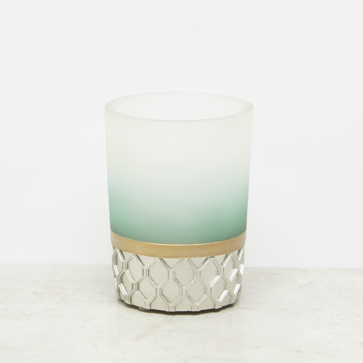 Colourblock Panelled Engraved Tumbler