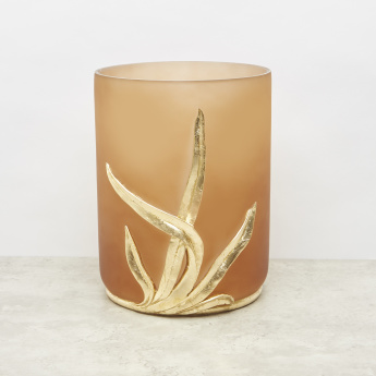 Seagrass Embossed Wastebin – 19x19x25.7 cms