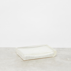 Shell Embossed Soap Dish