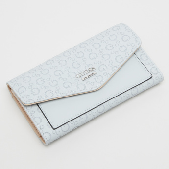 Guess Textured Tri-Fold Wallet