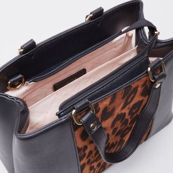 Sasha Juno Animal Printed Tote Bag