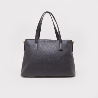 Sasha Juno Tote Bag with Chain Accent