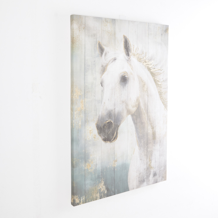 Foil Printed Decorative Canvas Wall Art