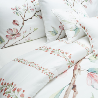 Linda Tree Garden 5-Piece King Comforter Set - 220x240 cms