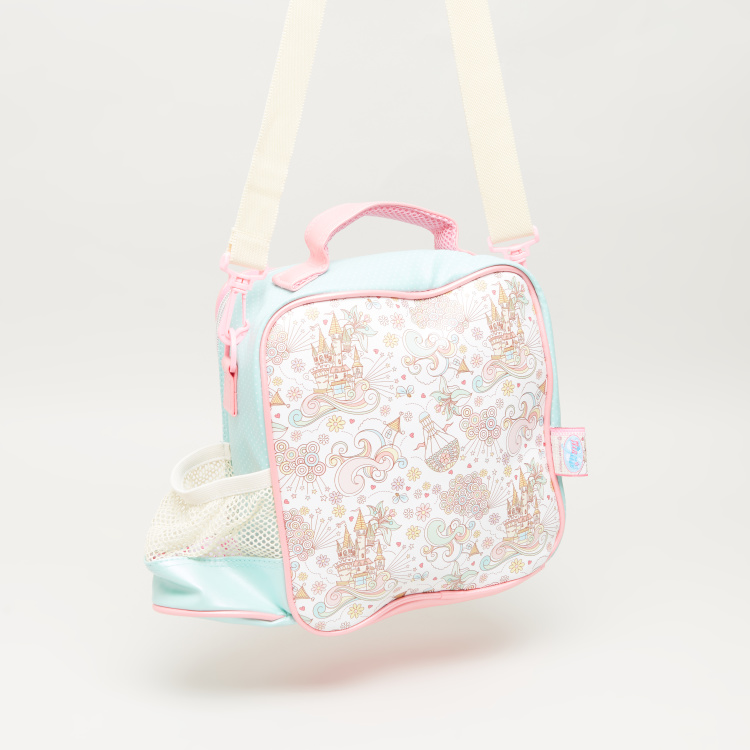 Minmie Goggles Printed Lunch Bag with Shoulder Strap