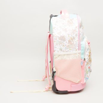 Minmie Goggles Printed Trolley Backpack with Bow Accent - 38x45 cms