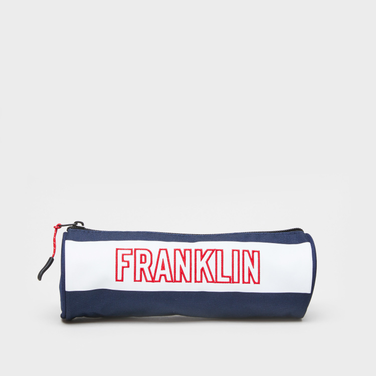 Franklin & Marshall Cylindrical Pencil Case