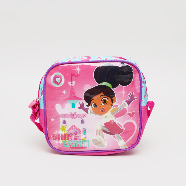 Nella The Princess Knight Printed Lunch Bag with Zip Closure