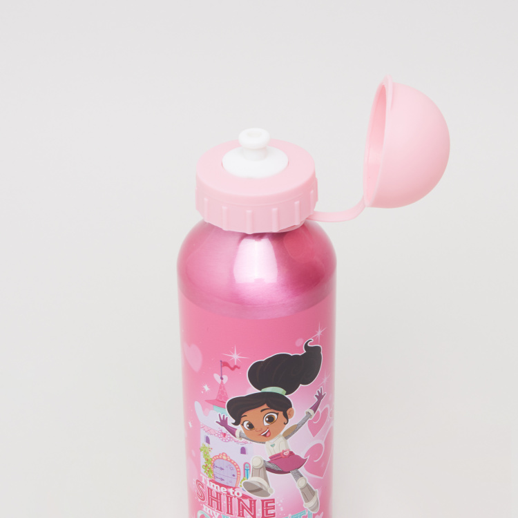 Nella The Princess Knight Print Water Bottle - 500 ml
