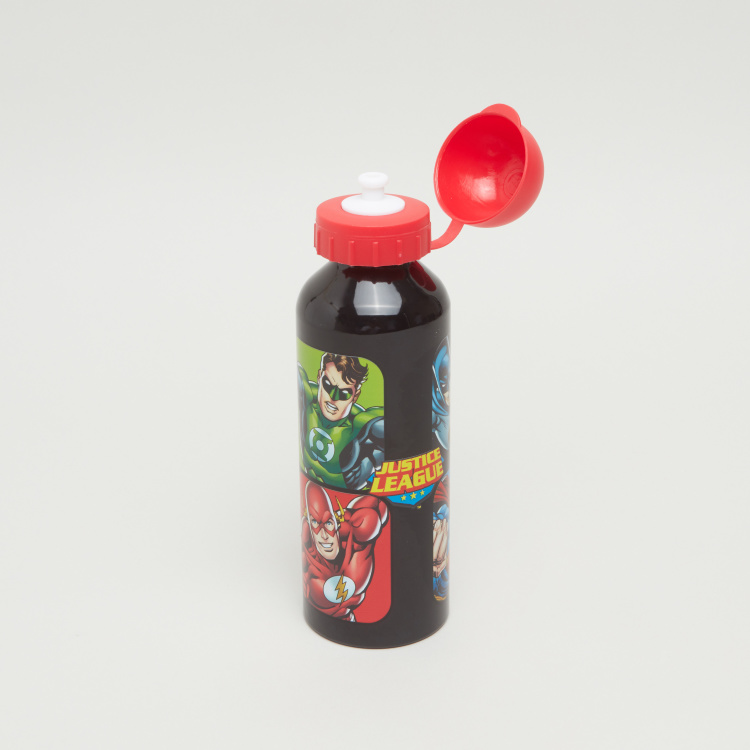 Justice League Printed Water Bottle - 500 ml