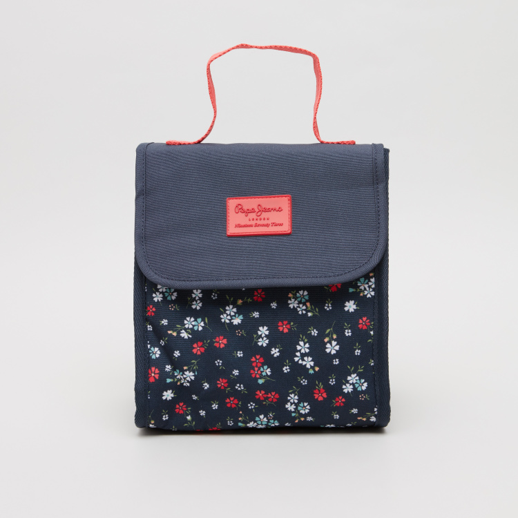 Pepe Jeans Jareth Floral Print Lunch Bag